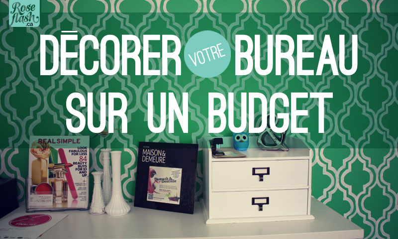 D corer sur un budget studio rose flash for Decorer son bureau au travail