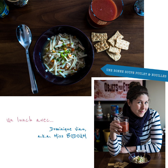 {Un lunch avec} Dominique Viau de BODOÜM photographie