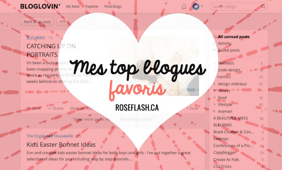 Mardi Maman: mes top blogues favoris