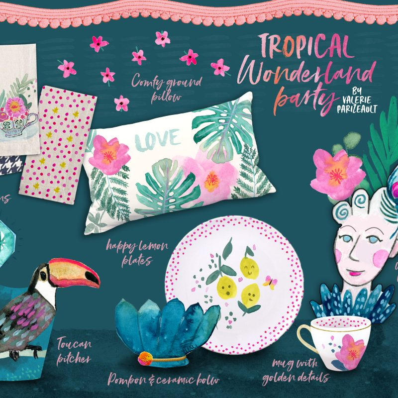 Collection Tropical Wonderland Party